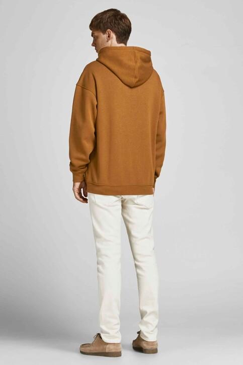 ORIGINALS BY JACK & JONES Sweaters met kap bruin 12204800_RUBBER LOOSE img2