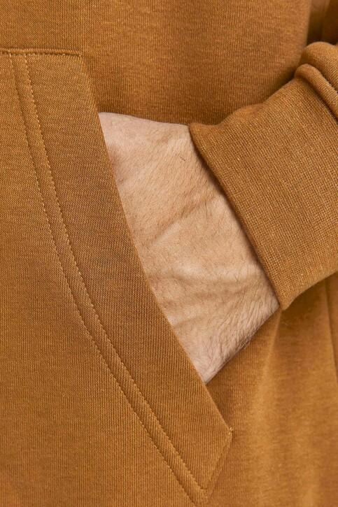 ORIGINALS BY JACK & JONES Sweaters met kap bruin 12204800_RUBBER LOOSE img3