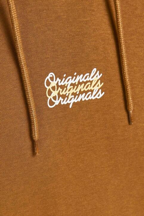 ORIGINALS BY JACK & JONES Sweaters met kap bruin 12204800_RUBBER LOOSE img4