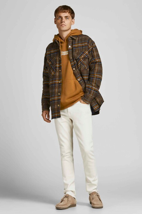 ORIGINALS BY JACK & JONES Sweaters met kap bruin 12204800_RUBBER LOOSE img5