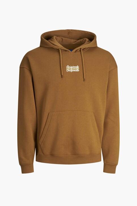 ORIGINALS BY JACK & JONES Sweaters met kap bruin 12204800_RUBBER LOOSE img7