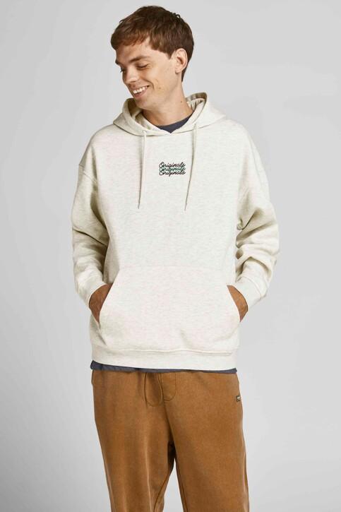 ORIGINALS BY JACK & JONES Sweaters met kap 12204800_WHITE MELANGE L img1