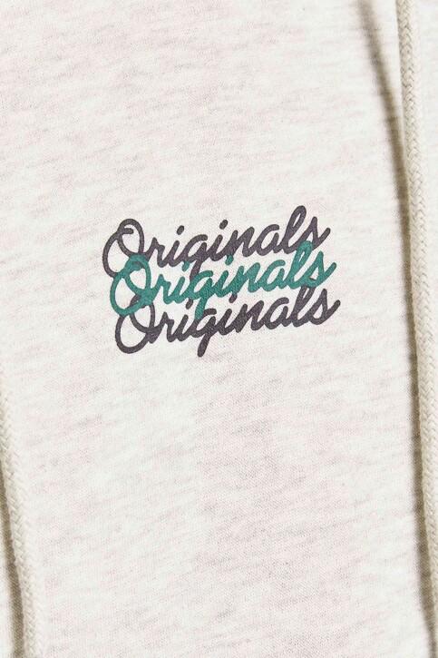 ORIGINALS BY JACK & JONES Sweaters met kap 12204800_WHITE MELANGE L img3