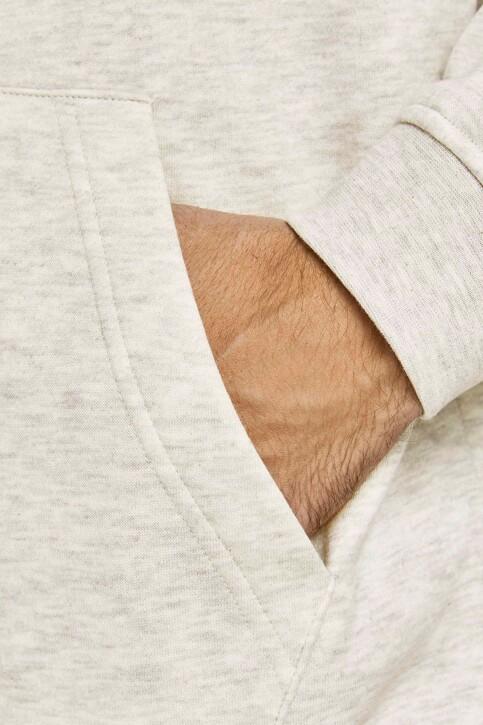 ORIGINALS BY JACK & JONES Sweaters met kap 12204800_WHITE MELANGE L img4