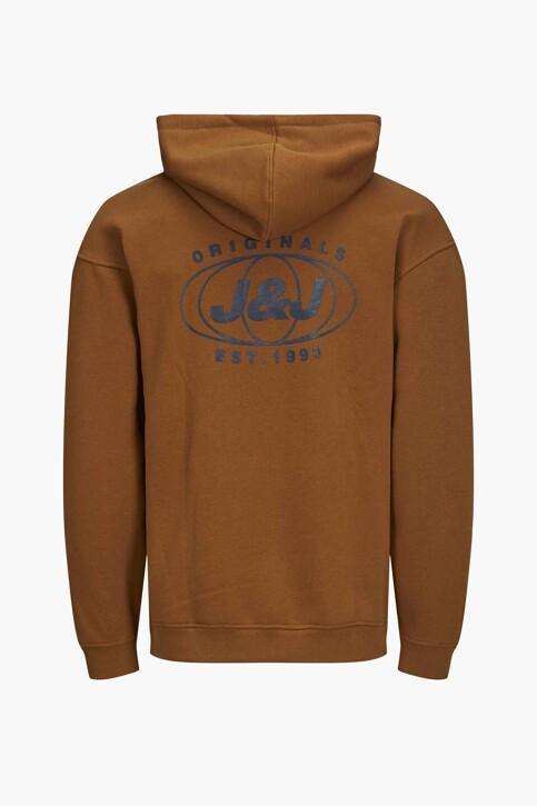ORIGINALS BY JACK & JONES Sweaters met kap bruin 12204806_RUBBER LOOSE img2