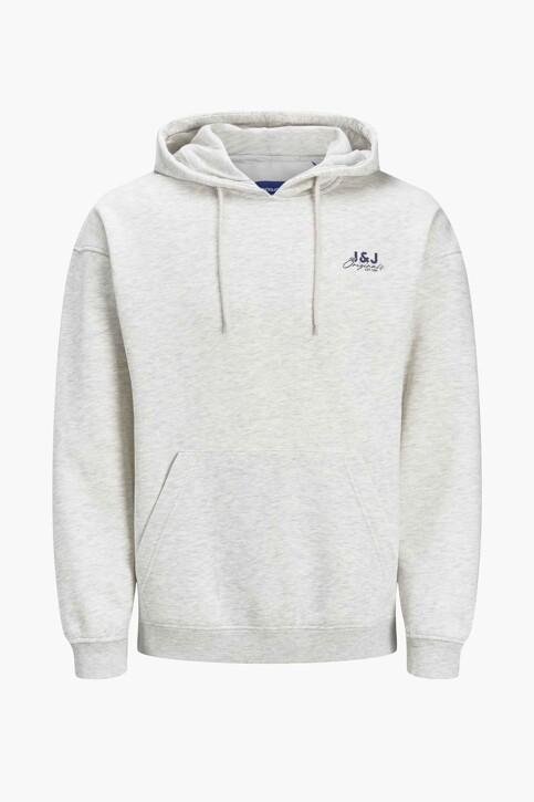 ORIGINALS BY JACK & JONES Sweaters met kap 12204806_WHITE MELANGE L img1