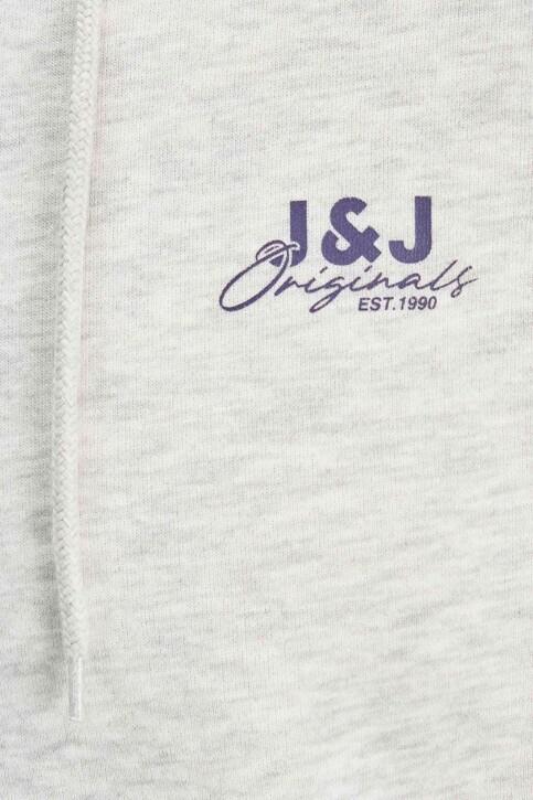 ORIGINALS BY JACK & JONES Sweaters met kap 12204806_WHITE MELANGE L img2