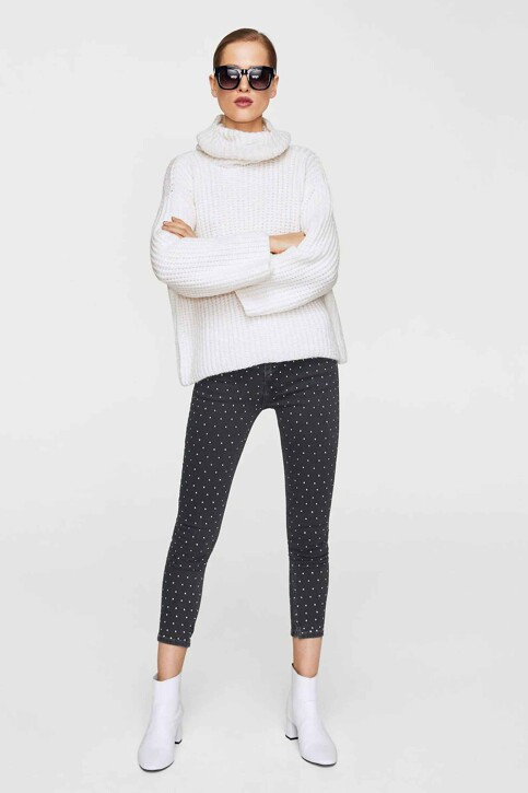 Mango Jeans skinny zwart 13065672_MNG_17_BLACK img1
