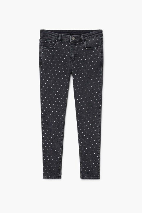 Mango Jeans skinny zwart 13065672_MNG_17_BLACK img4