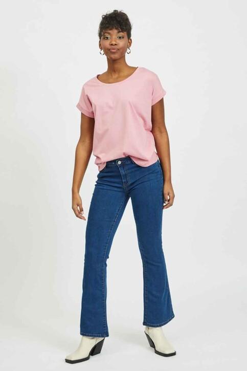 VILA® Tops (korte mouwen) roze 14025668_WILD ROSE img2