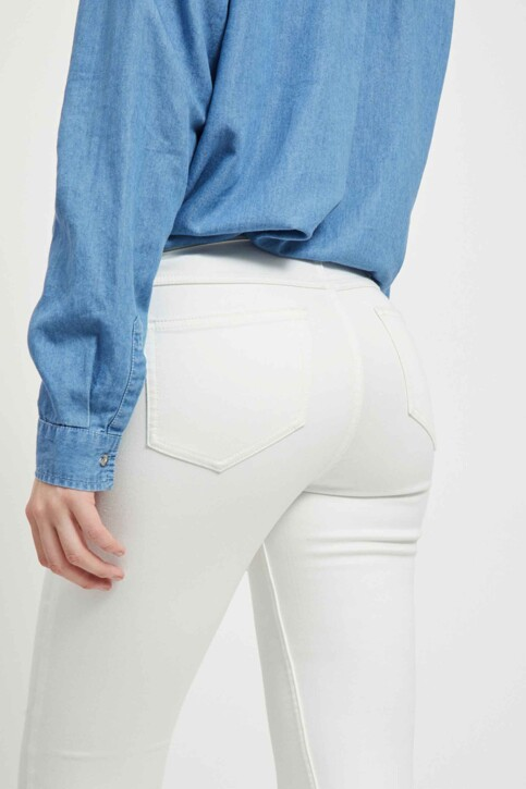 VILA® Jeans skinny wit 14032799_OPTICAL SNOW img5