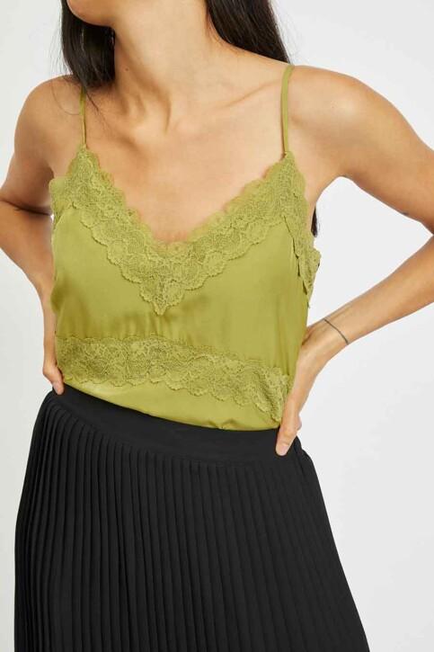VILA® Blouses (zonder mouwen) groen 14060821_GREEN OLIVE img4