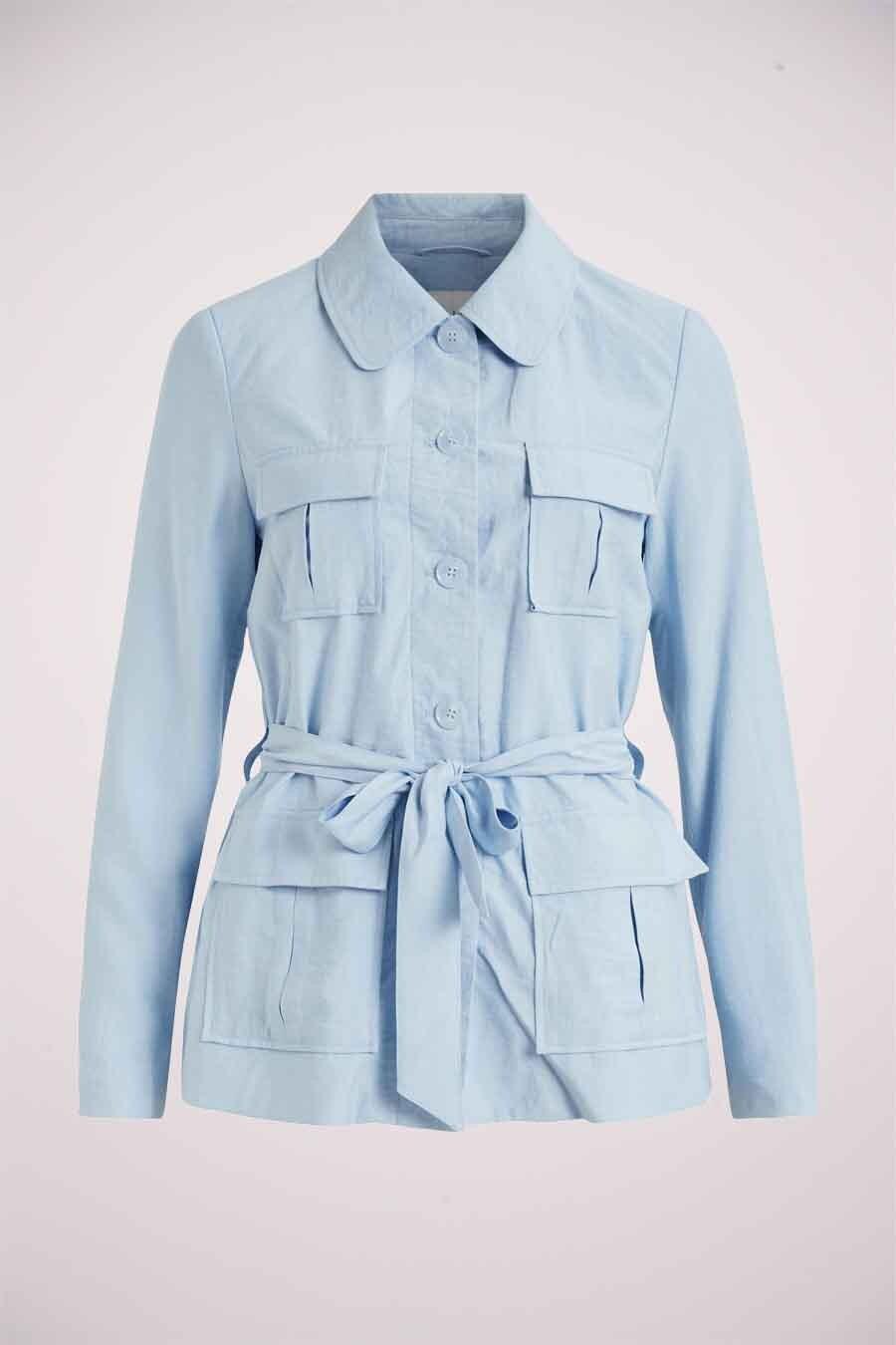 VILA® Blazer, Blauw, Dames, Maat: 34/36/38/40
