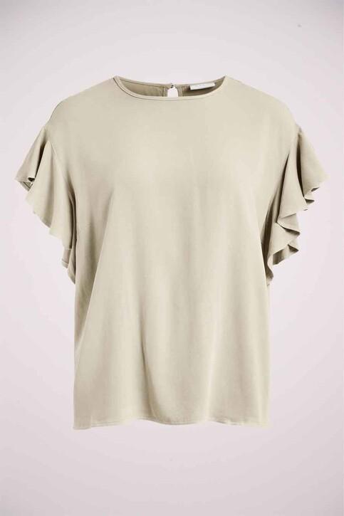 VILA® Blouses (korte mouwen) wit 14063300_BIRCH img2