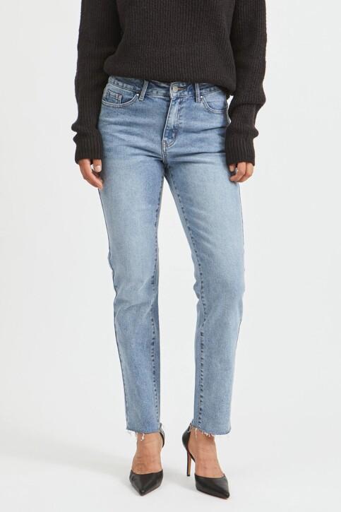 VILA® Mom Jeans denim 14063713_LIGHT BLUE DENI img1