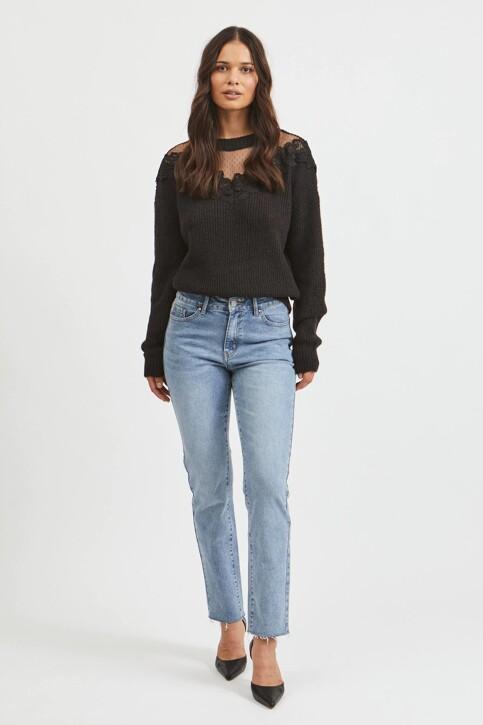 VILA® Mom Jeans denim 14063713_LIGHT BLUE DENI img2