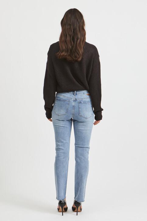 VILA® Mom Jeans denim 14063713_LIGHT BLUE DENI img3