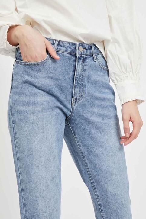 VILA® Mom Jeans denim 14063713_LIGHT BLUE DENI img4