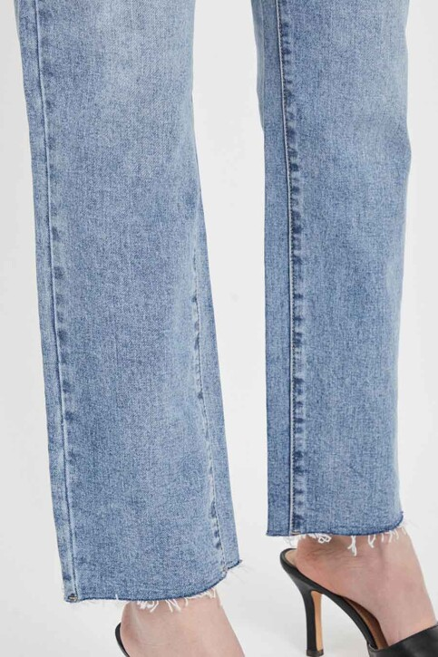 VILA® Mom Jeans denim 14063713_LIGHT BLUE DENI img5