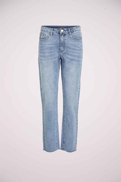 VILA® Mom Jeans denim 14063713_LIGHT BLUE DENI img6