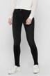 ONLY® Jeans skinny noir 15157997_BLACK DENIM img1