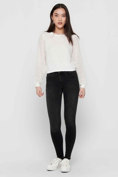 ONLY® Jeans skinny noir 15157997_BLACK DENIM img6