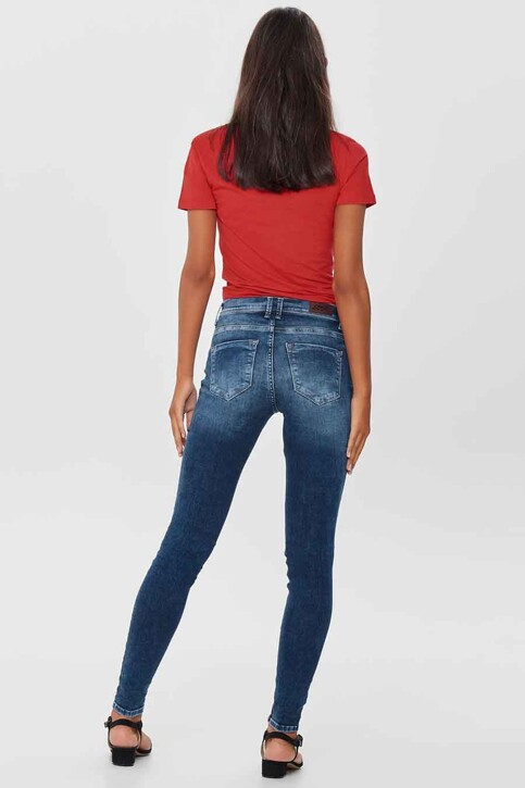 ONLY® Jeans skinny denim 15159137_DARK BLUE DENIM img3