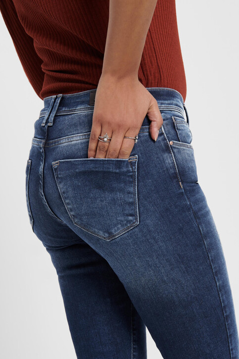 ONLY® Jeans skinny denim 15159137_DARK BLUE DENIM img5