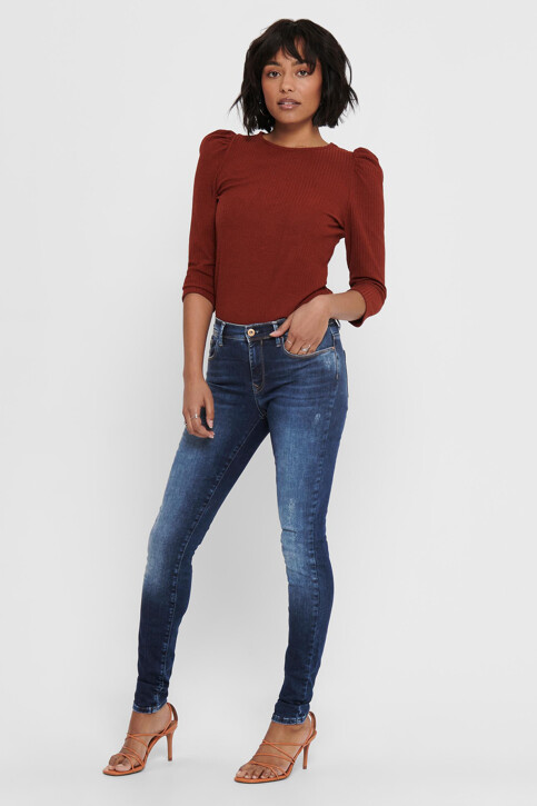 ONLY® Jeans skinny denim 15159137_DARK BLUE DENIM img6