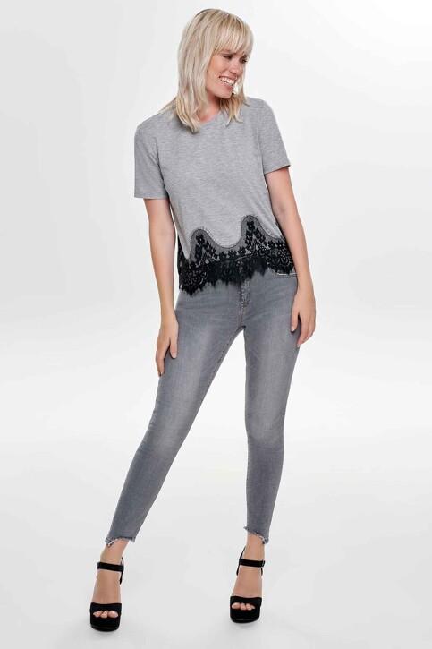 ONLY® Jeans skinny gris 15159401_MEDIUM GREY DEN img2
