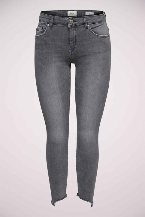 ONLY® Jeans skinny gris 15159401_MEDIUM GREY DEN img5