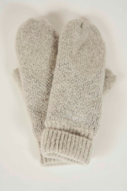 ONLY® Gants gris 15160329_LIGHT GREY MELA img1