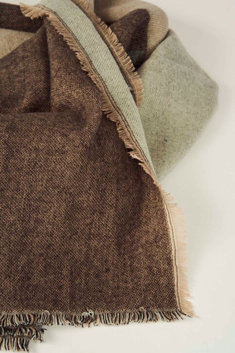 ONLY® Wintersjaals zwart 15160439_BLACK TAUPE GRE img3