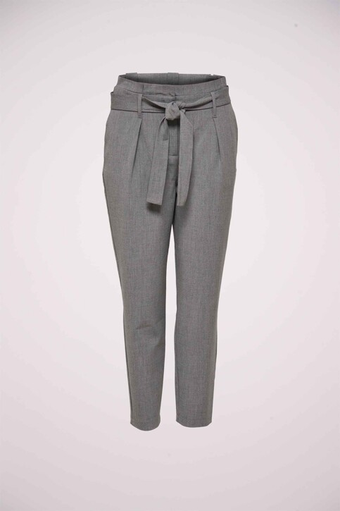 ONLY® Pantalons gris 15160446_LIGHT GREY MELA img1
