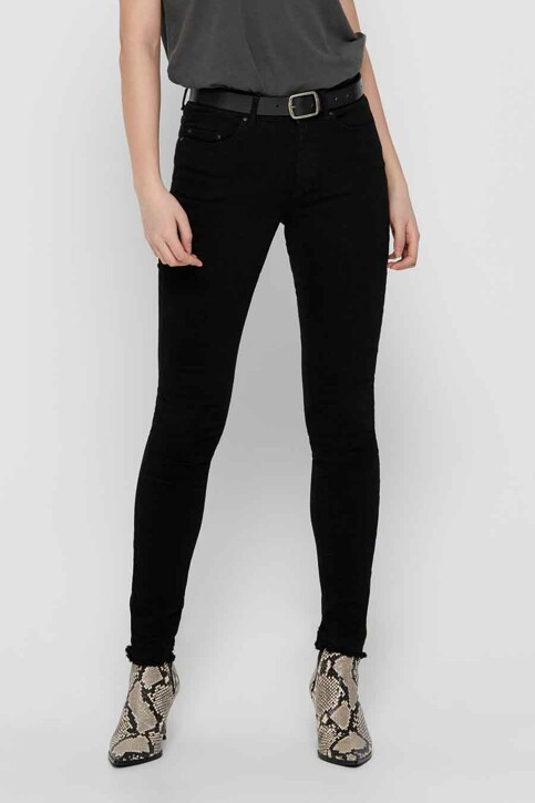 ONLY® Jeans skinny zwart 15167313_BLACK DENIM img1
