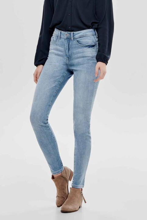 JACQUELINE DE YONG Jeans skinny bleu 15171481_LIGHT BLUE DENI img2