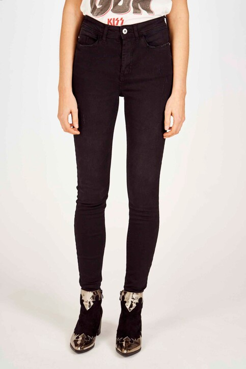 JACQUELINE DE YONG Jeans skinny zwart 15171483_BLACK DENIM img1