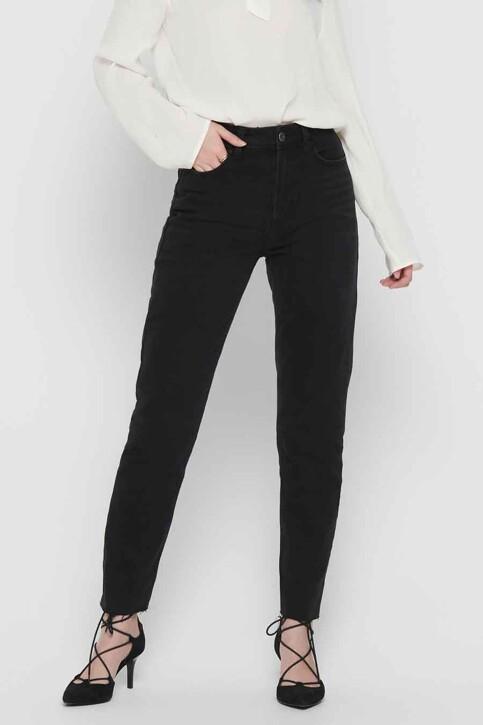 ONLY® Jeans straight zwart 15171545_BLACK DENIM img1