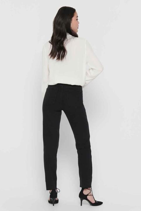 ONLY® Jeans straight zwart 15171545_BLACK DENIM img3