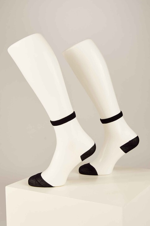 ONLY® Sokken zwart 15171682_BLACK HEEL AND img2