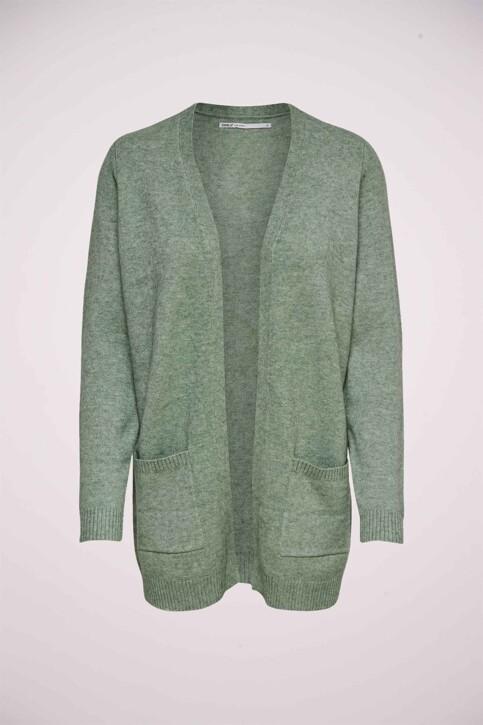 ONLY® Cardigans vert 15174274_BASIL W MELANGE img1