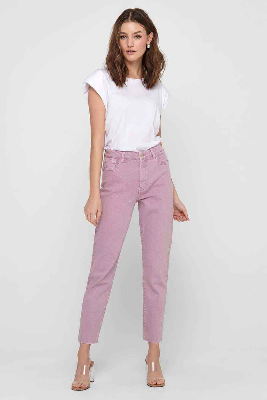 ONLY® Broek, Straight Jeans, Dames, Maat: 25x32/26x32/29x30/30x30/31x30/32x30