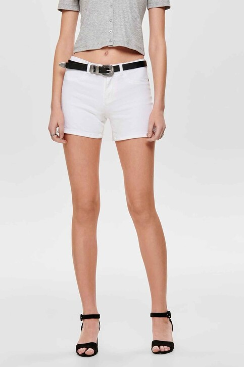 JACQUELINE DE YONG Shorts wit 15176034_CLOUD DANCER img3