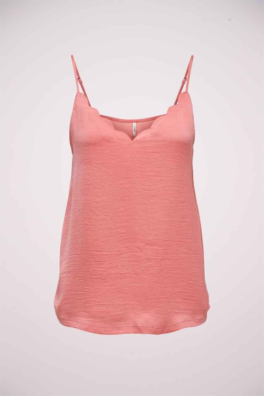 ONLY® Blouse zonder mouwen, Roze, Dames, Maat: 38/42