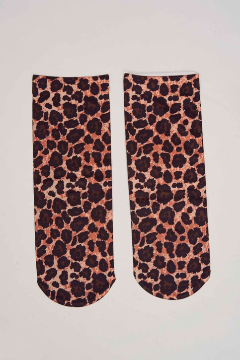 ONLY® Chaussettes brun 15179000_BLACK LEO img2