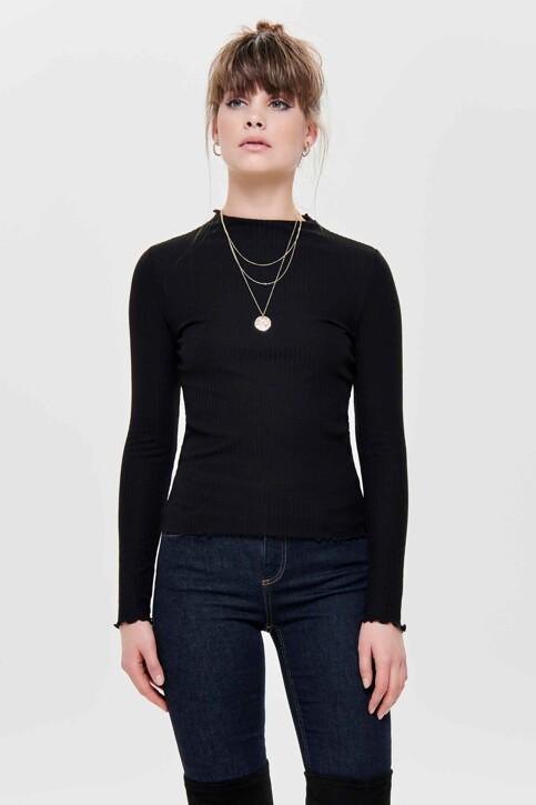 ONLY® Truien met ronde hals zwart 15180040_BLACK img1