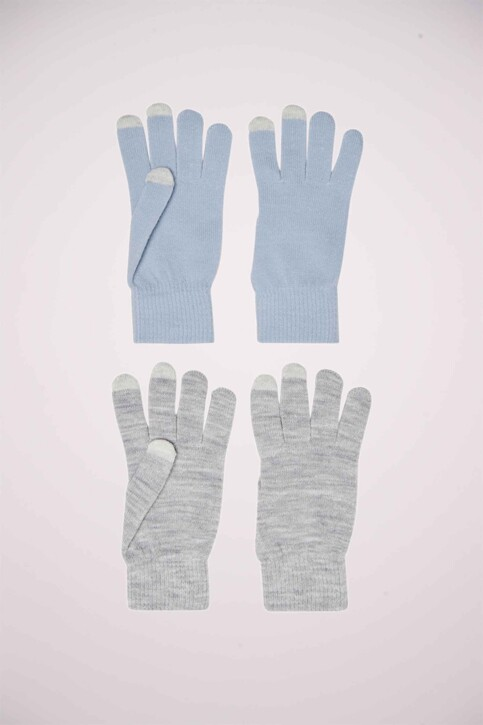 ONLY® Handschoenen grijs 15181164_LIGHT GREY MELA img1