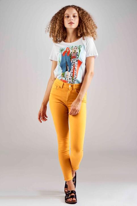 ONLY® Colorbroeken geel 15182453_GOLDEN YELLOW img1