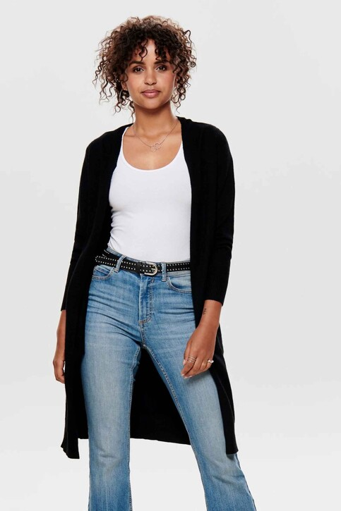 JACQUELINE DE YONG Cardigans noir 15184979_BLACK img1