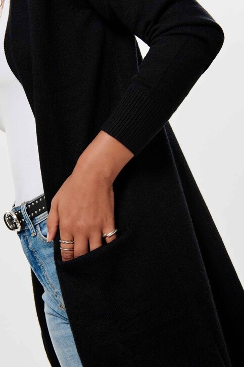 JACQUELINE DE YONG Cardigans noir 15184979_BLACK img4